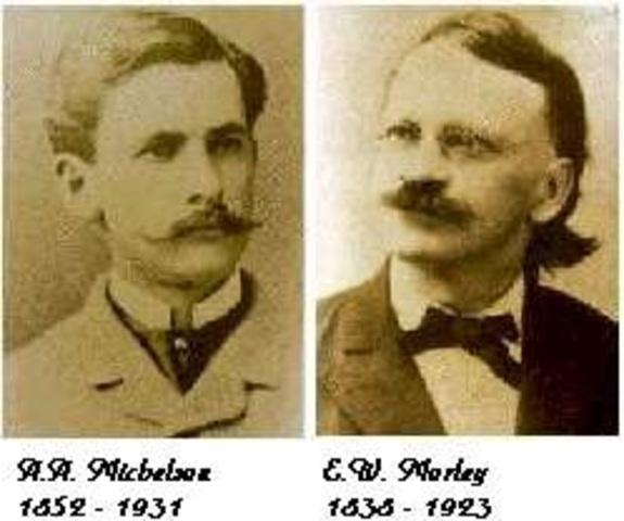 teoria de la luz de  michelson y morley