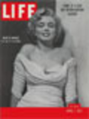 "First ""Life"" magazine cover"""