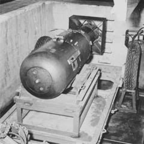 Creación de las bombas nucleares