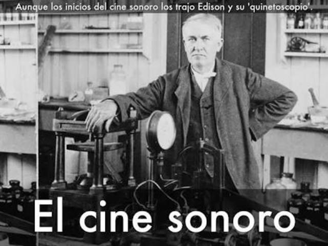 la invencion del cine sonoro