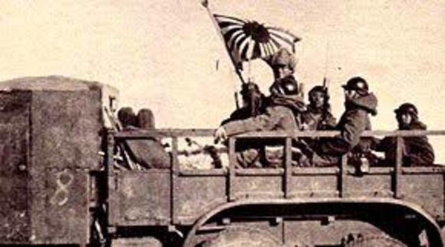Japón ocupó Manchuria