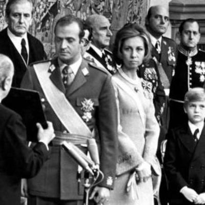 La transición y la democracia en España timeline