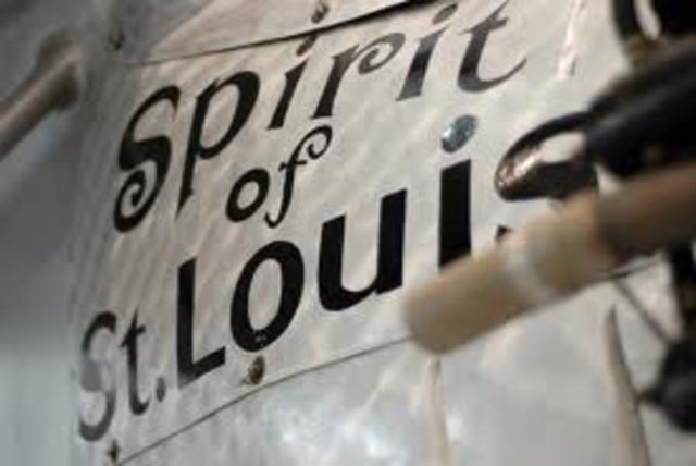 the spirit of st. louis ends