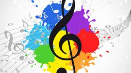 Evolución música (1900-2000) timeline