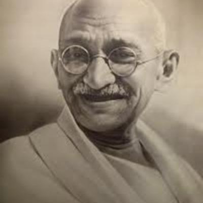 Gandhi's trajectory  timeline