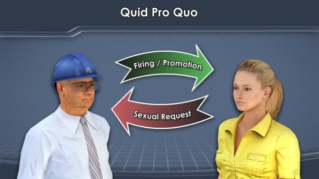 What is quid pro quo sexual harassment images 2
