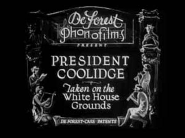 The Second Election of president Cooldige