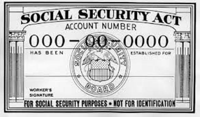 Social Security Act is Passed