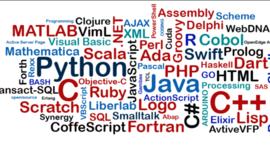 Generacion de los Lenguajes de Programacion timeline