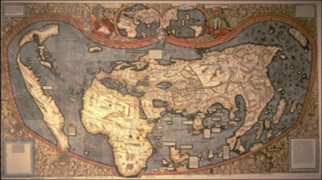 Primer mapamundi