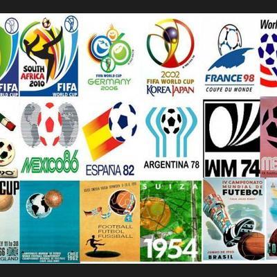 Todos los mundiales de fútbol de la historia timeline