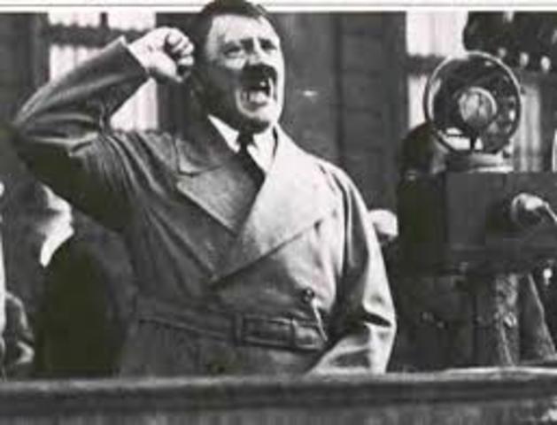 Ultimo discurso de Adolf Hitler