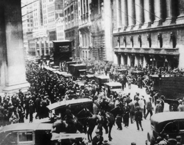 Wall Street krakket i 1929