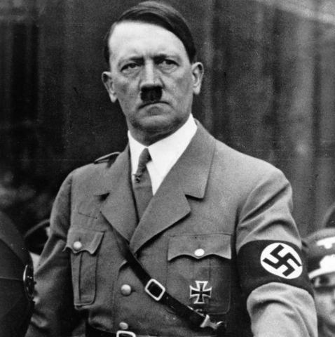 Adolfo Hitler en el ejercito