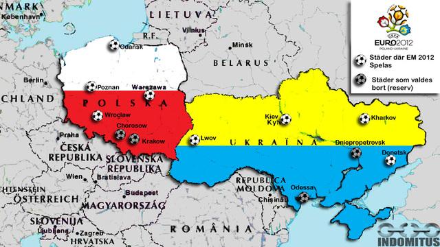 Polen mot Ukraina