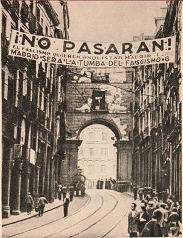 Inici Batalla de Madrid