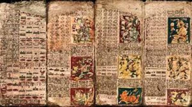 Codex in the Mayan region