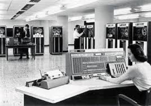 Mainframe computers - i.e. IBM 704