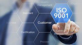EVOLUCIÓN DE LA NORMA ISO 9001  timeline