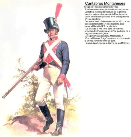 Es designado Capitán de las Milicias