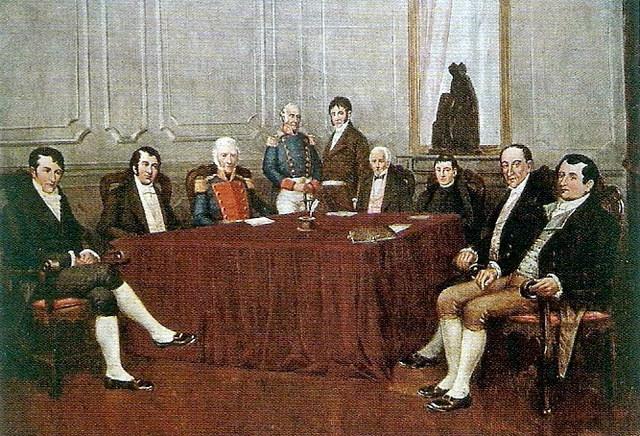 La Primera Junta de Gobierno