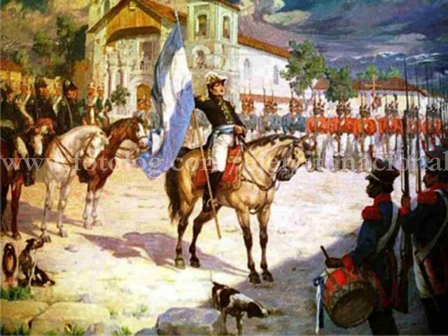 Es designado General en Jefe del Ejército del Perú