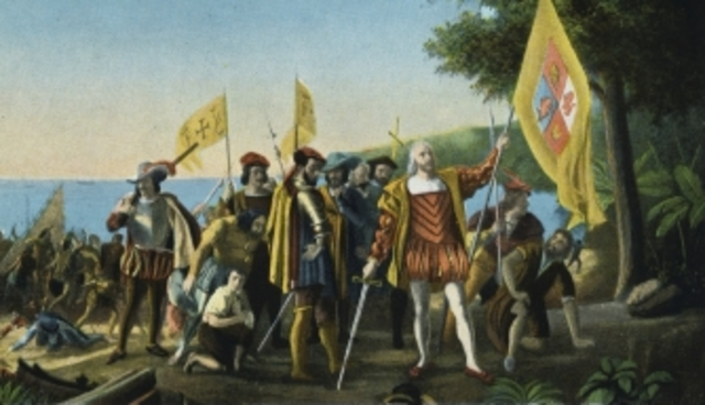 Arrival of Christopher Columbus at the Americas