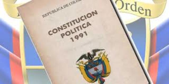 When I was 7 years old, in Colombia the political constitution was enacted