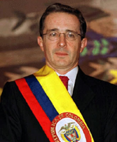 I was of legal age when Alvaro Uribe Velez was president of Colombia