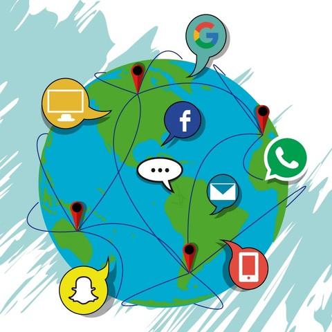 Comunicación virtual.