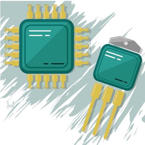 El transistor y el microprocesador