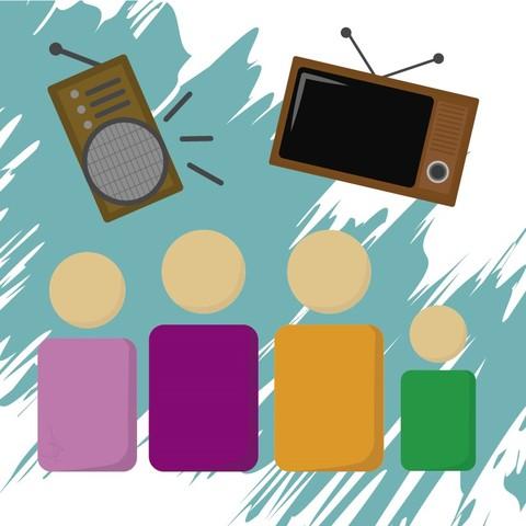 Radio y televisión: los medios de la familia.