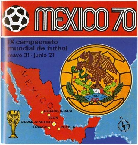 MUNDIAL 1970 - MÉXICO