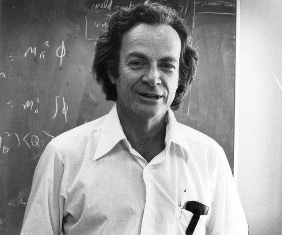 Выступление Ричарда Фейнмана