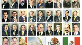 Presidentes de México en el siglo XX y XXI timeline