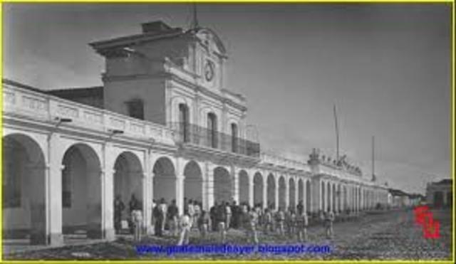 Instalación de la casa de la Moneda