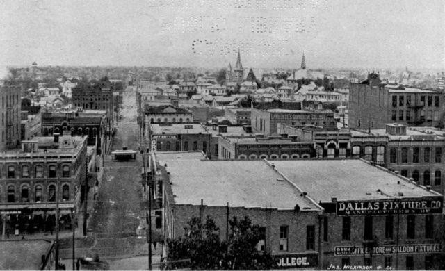 Population of Dallas: 42,639