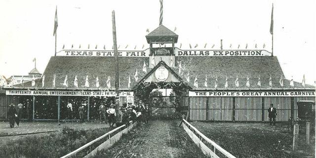 First Dallas State Fair held at Fair Park