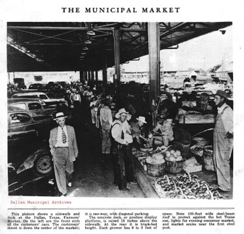 Dallas Farmers Market established