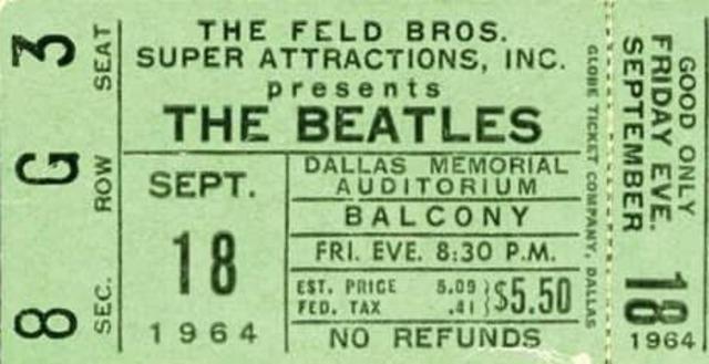 The Beatles at Memorial Auditorium