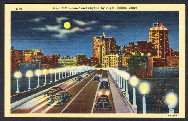 Oak Cliff Viaduct & Kessler Plan