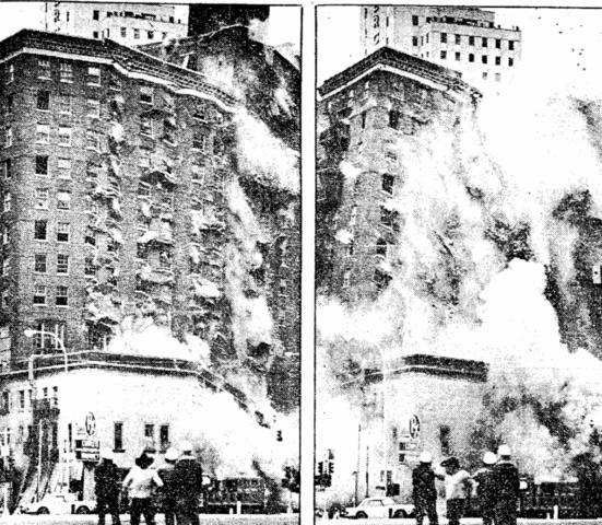 Dallas Athletic Club demolished