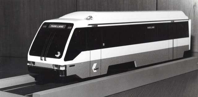 DART begins light-rail service