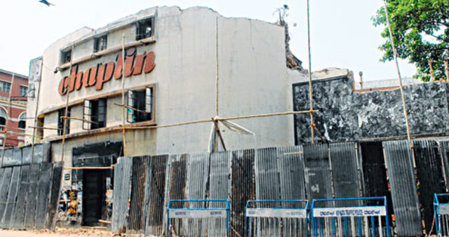 The Elphinstone Picture Palace in Kolkata is Demolished