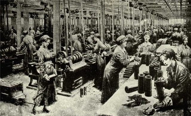 Women Were Allowed to Work in Factories
