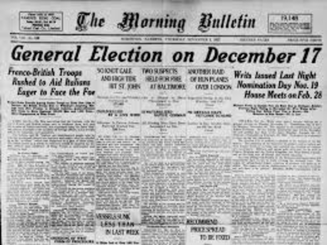 The Federal Election of 1917