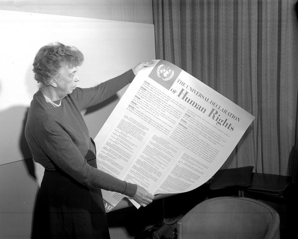 Canada signs the Universal Declaration Of Human Rights.