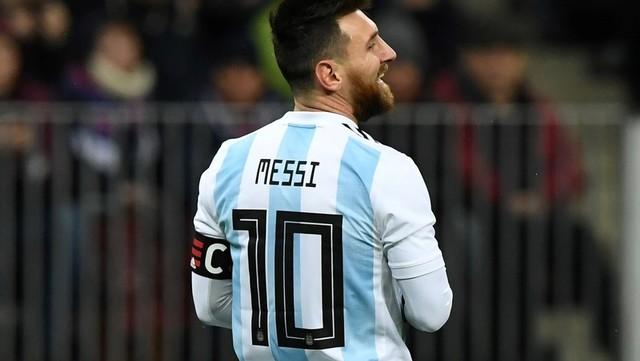 la trayectoria de su carrera en la seleccion de Argentina