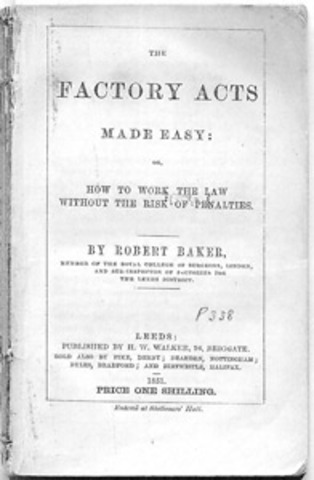 """Factory Acts"" del 1"