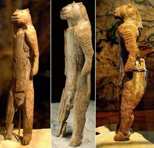 Name: Lion Man. Period: PALEOLITHIC 10,000 B.C.E. Date: 35,000 to 40,000